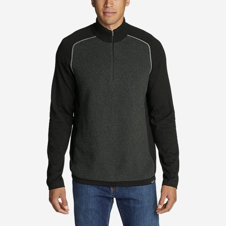 Men's Talus Textured 1/4-Zip Sweater large version