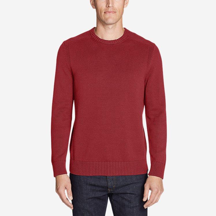 Men's Signature Cotton Crew Sweater large version
