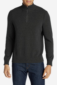 Men's Signature Cotton 1/4-Zip Sweater