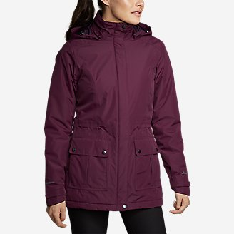 Thumbnail View 1 - Women's Rainfoil® Fleece-Lined Parka