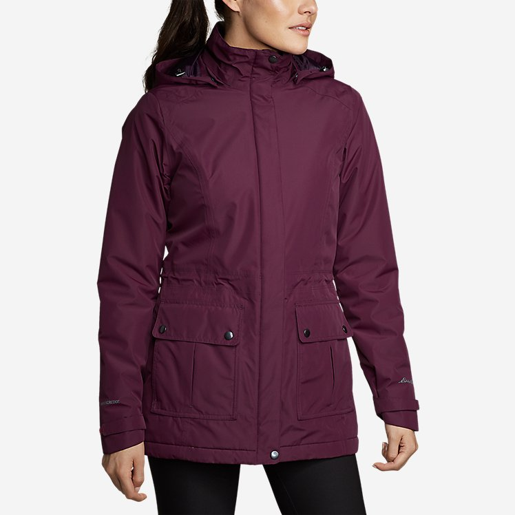 Women's Rainfoil® Fleece-Lined Parka large version