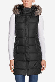 Women's Lodge Down Long Vest