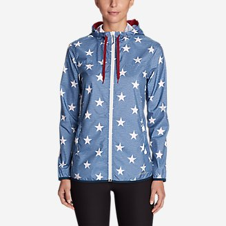 Thumbnail View 1 - Women's Momentum Light Jacket - Printed
