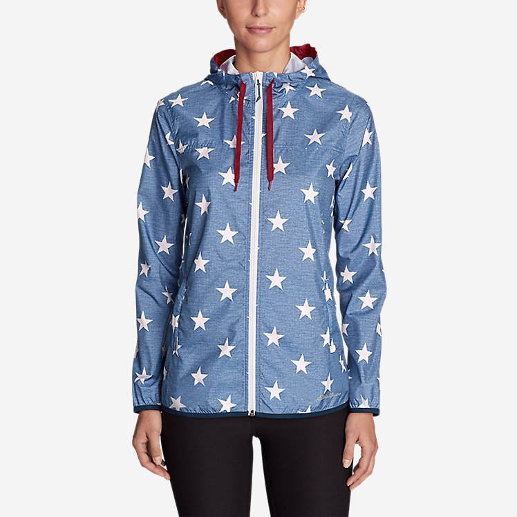 Women's Momentum Light Jacket - Printed large version