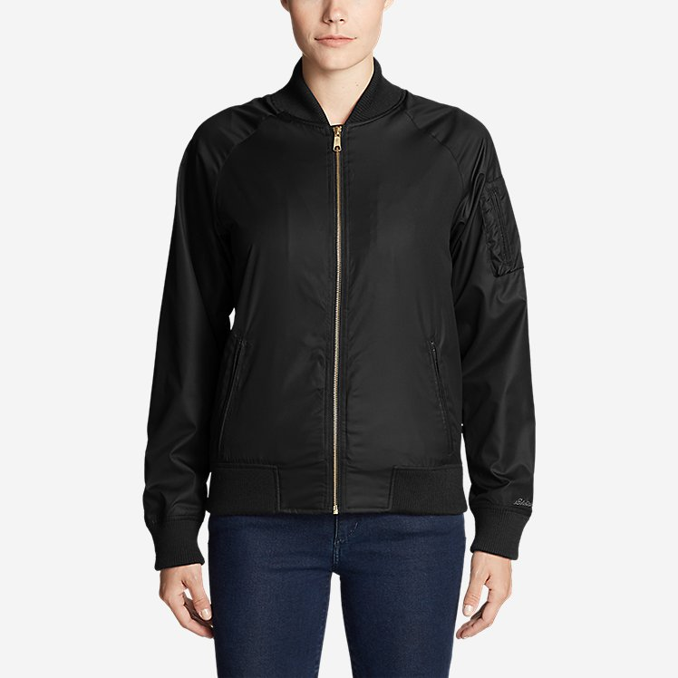 Women's Winslow Fleece-Lined Bomber Jacket large version