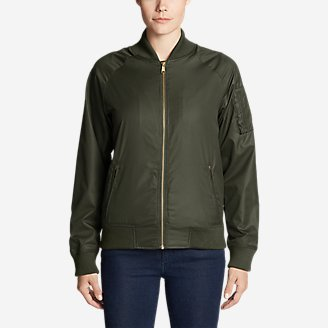Thumbnail View 1 - Women's Winslow Fleece-Lined Bomber Jacket