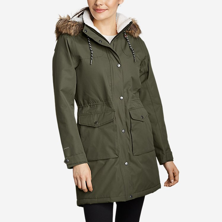 Women's Charly Sherpa-Lined Parka large version