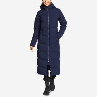 Thumbnail View 1 - Women's Glacier Peak Seamless Stretch Down Duffle Coat
