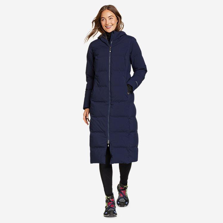 Women's Glacier Peak Seamless Stretch Down Duffle Coat large version