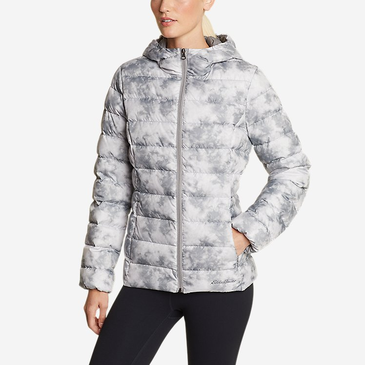 Women's CirrusLite Down Hooded Jacket large version