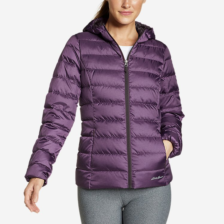 Women's Cirruslite Down Hooded Jacket | Eddie Bauer