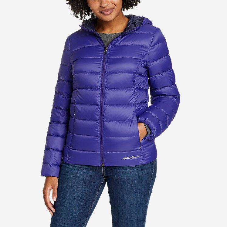 Women's CirrusLite Down Hooded Jacket large version