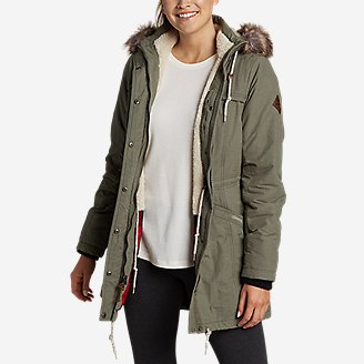 Thumbnail View 1 - Women's Ladder Creek High-Pile Parka