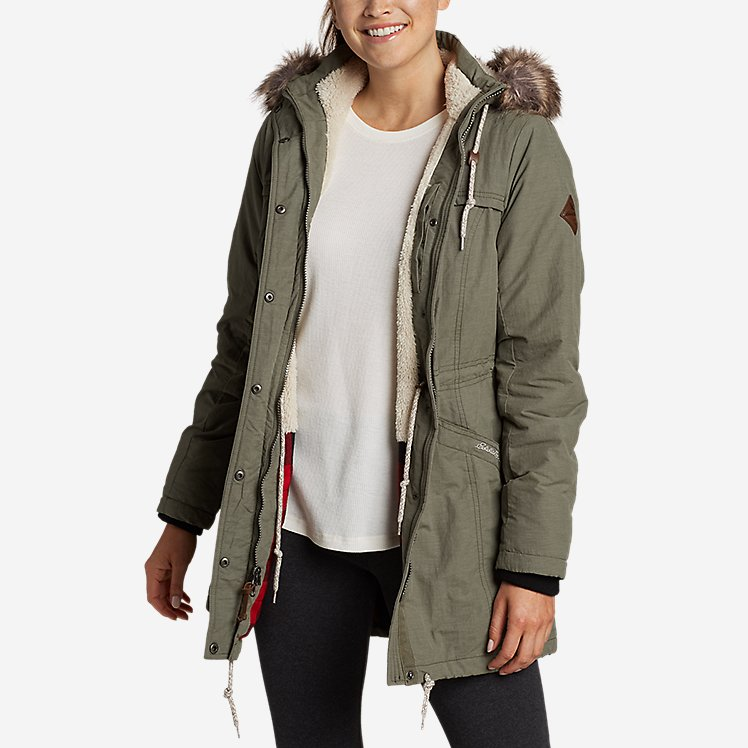 Women's Ladder Creek High-Pile Parka large version