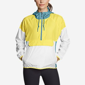 Thumbnail View 1 - Women's Momentum Light UPF Anorak