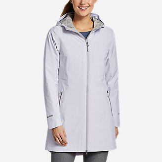 Thumbnail View 1 - Women's Cloud Cap Stretch Insulated Trench Coat