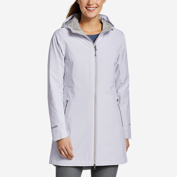 Women's Cloud Cap Stretch Insulated Trench Coat large version