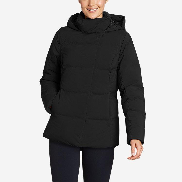 Women's Glacier Peak Seamless Stretch Down Hooded Jacket large version