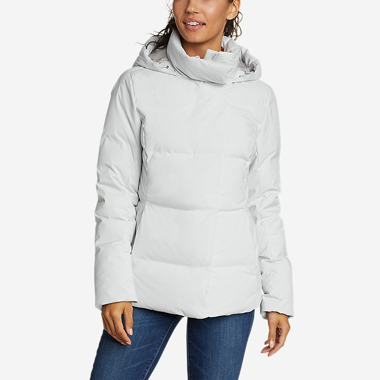 Women's Glacier Peak Seamless Stretch Down Hooded Jacket large version