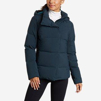Thumbnail View 1 - Women's Glacier Peak Seamless Stretch Down Hooded Jacket