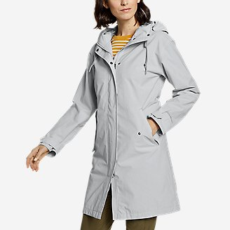 Thumbnail View 1 - Women's Port Townsend Trench Coat