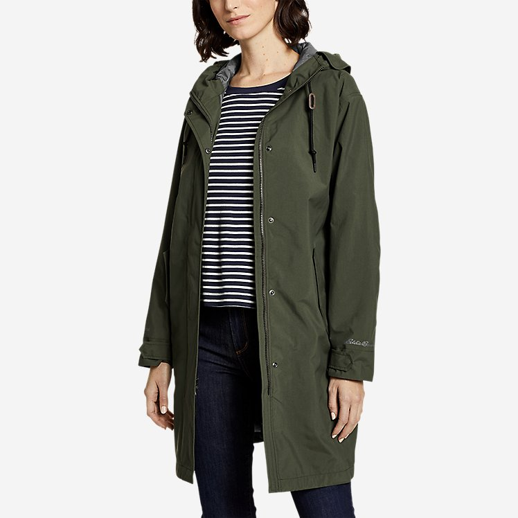 Women's Port Townsend Trench Coat large version