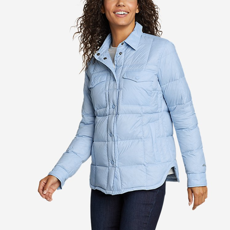 Women's Stratuslite Down Shirt Jacket large version