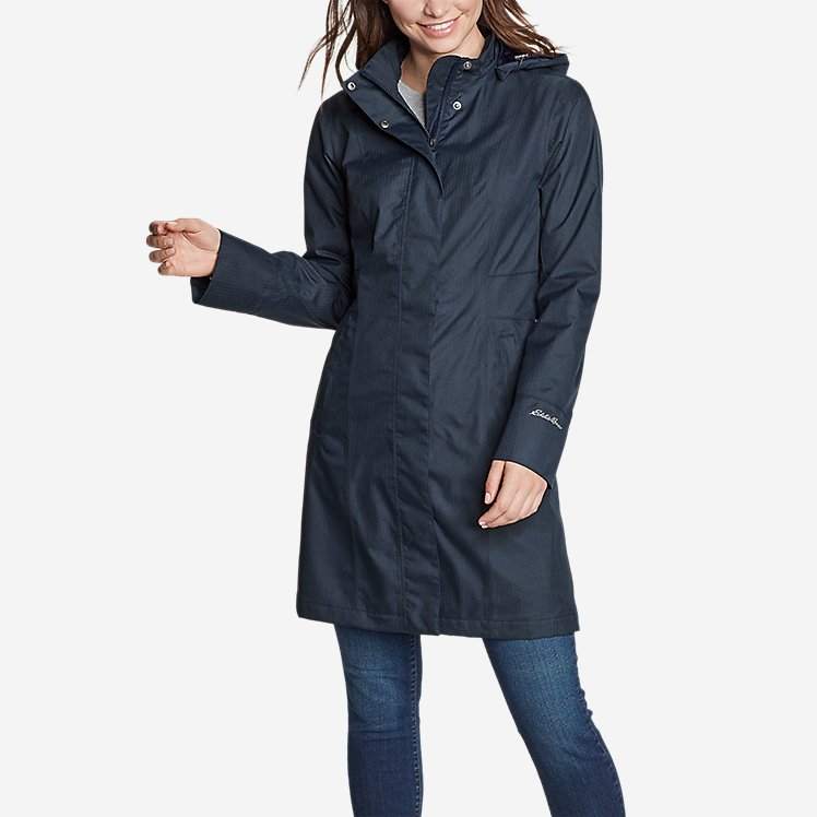 Women's Girl on the Go® Trench Coat large version