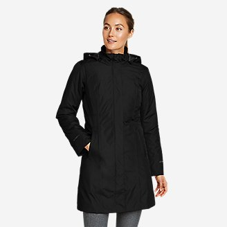 Thumbnail View 1 - Women's Girl On The Go Insulated Trench Coat