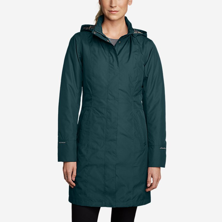 Women's Girl On The Go Insulated Trench Coat large version