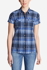 Women's Packable Short-Sleeve Shirt