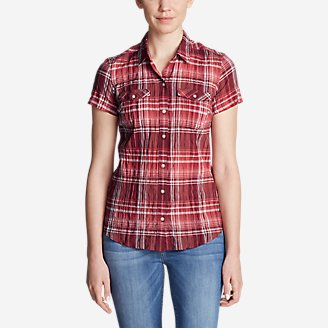 Thumbnail View 1 - Women's Packable Short-Sleeve Shirt