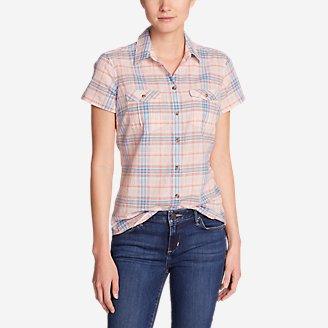 Thumbnail View 1 - Women's Packable Short-Sleeve Shirt