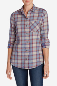 Women's Stine's Favorite Flannel Boyfriend Shirt - Vintage Wash