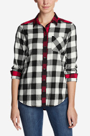 Women's Stine's Favorite Flannel Shirt - Mixed Plaid Boyfriend