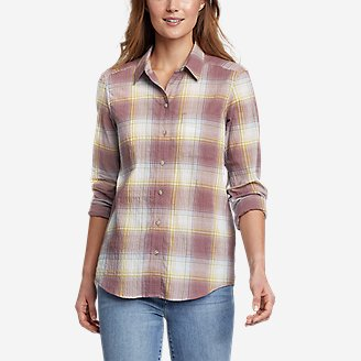 Thumbnail View 1 - Women's Packable Long-Sleeve Shirt