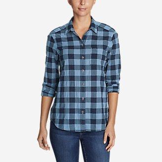 Thumbnail View 1 - Women's Boyfriend Packable Shirt