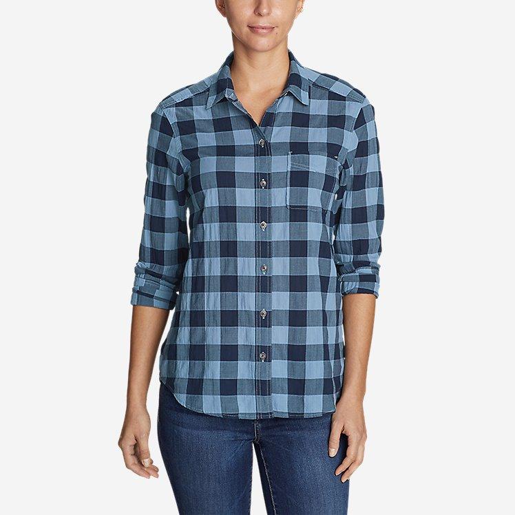 Women's Boyfriend Packable Shirt large version