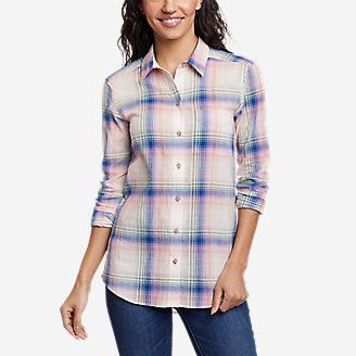 Thumbnail View 1 - Women's Packable Long-Sleeve Shirt