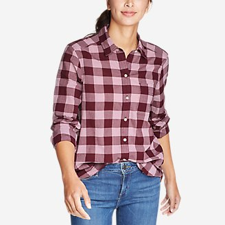Thumbnail View 1 - Women's Boyfriend Packable Shirt