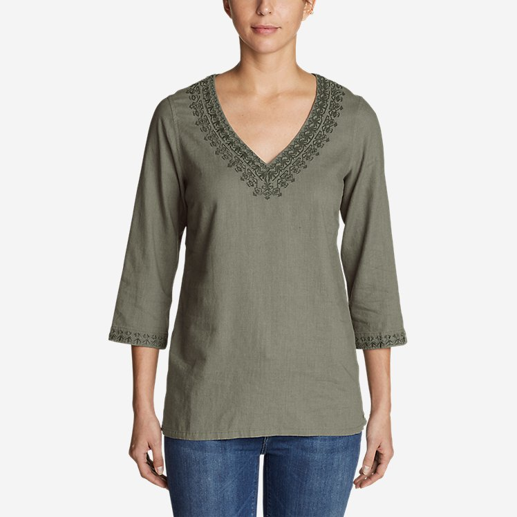 Women's Vista Point Tunic w/ Embroidery large version