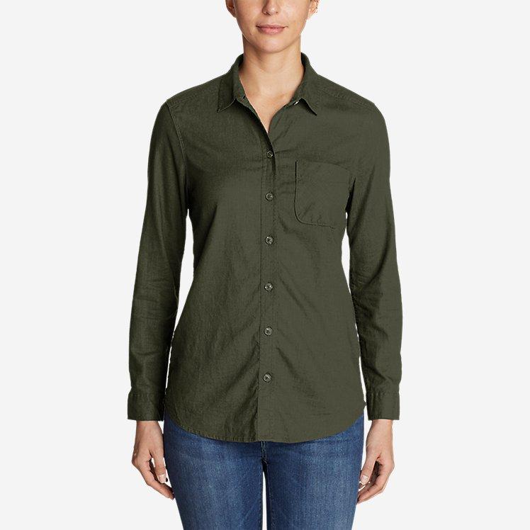 Women's Vista Point Boyfriend Shirt large version