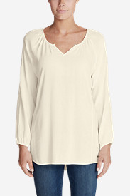 Women's Thistle 3/4-Sleeve Top - Solid