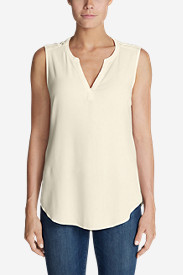 Women's Thistle Sleeveless Popover Top - Solid