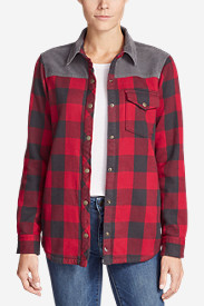 Women's Fireside Blocked Shirt Jacket