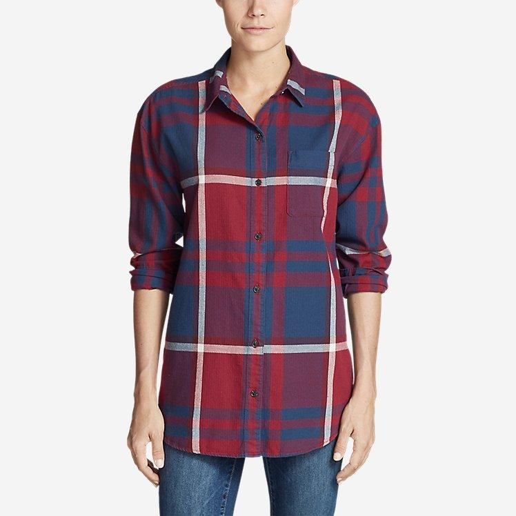 Women's Stine's Favorite Flannel Boyfriend Shirt large version