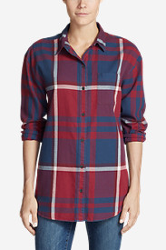 Women's Stine's Favorite Flannel Ex-Boyfriend Tunic Shirt