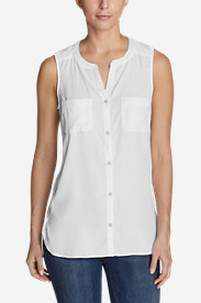 Women's Tranquil Sleeveless Tunic Shirt
