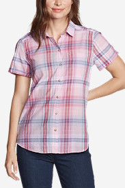 Women's Packable Short-Sleeve Shirt - Boyfriend