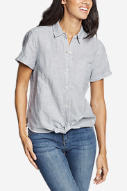 Women's Emmons Vista Short-Sleeve Tie-Front Shirt - Boyfriend